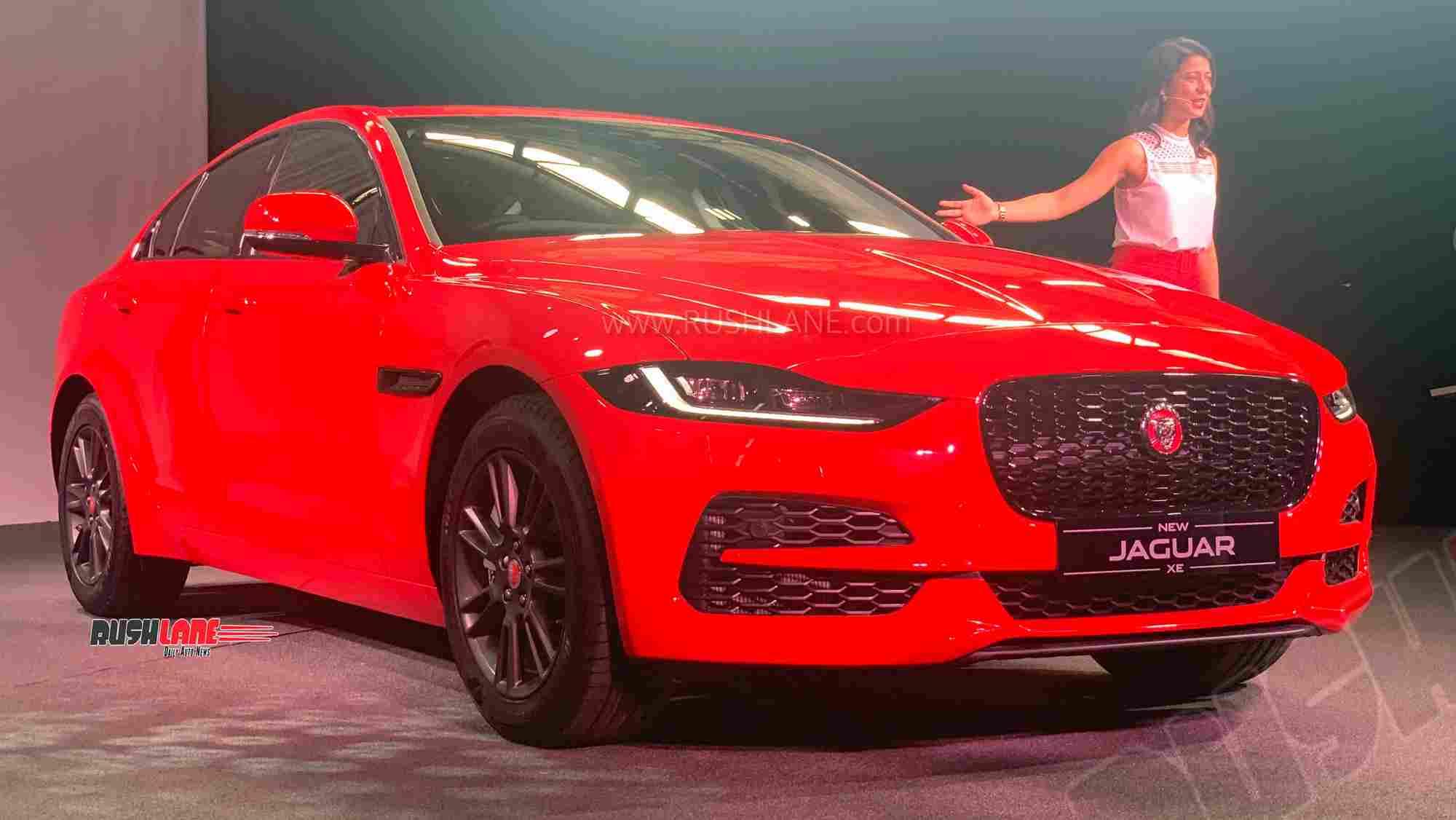 jaguar xe facelift launch