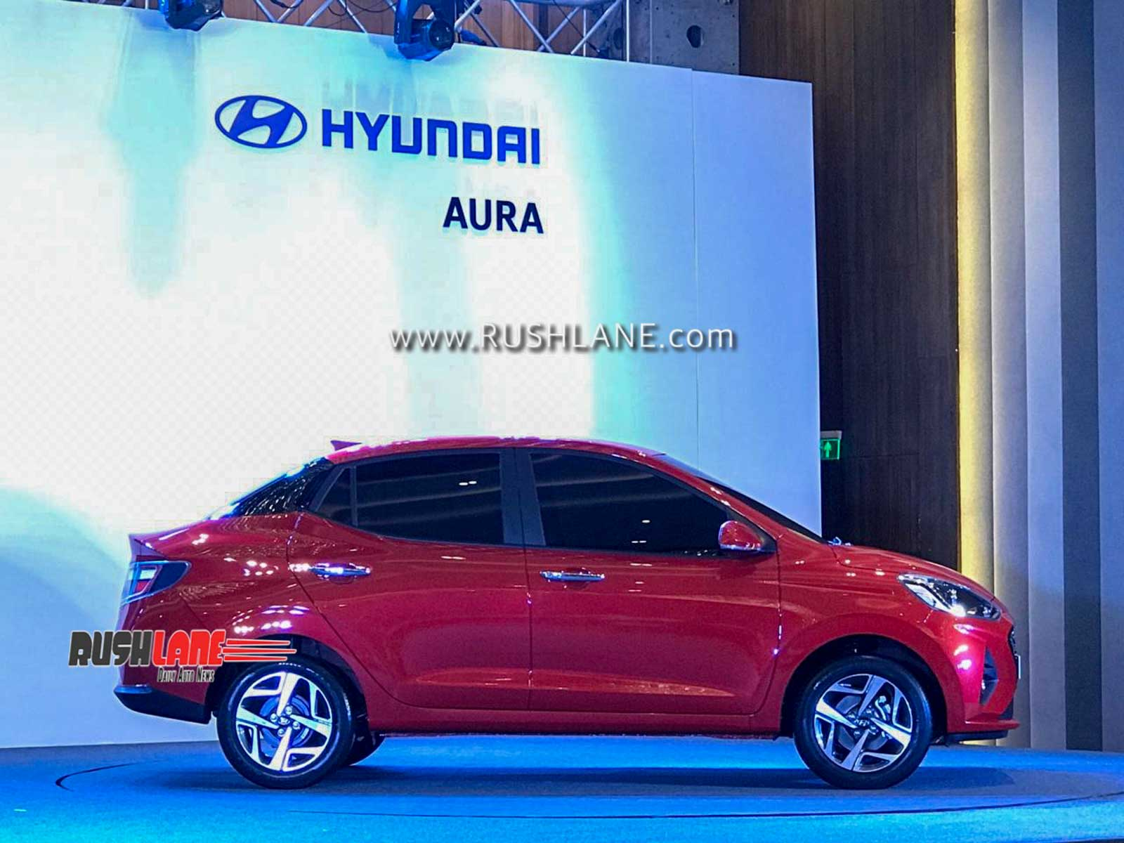 2020 Hyundai Aura sedan