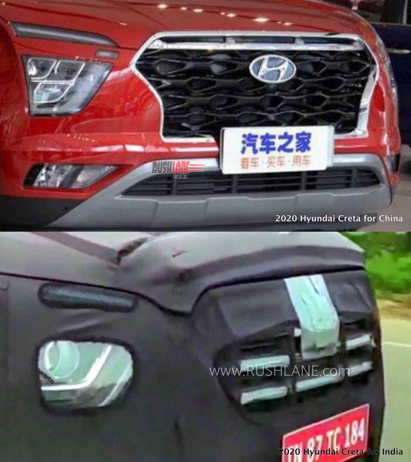 2020 Hyundai Creta India vs Chinese