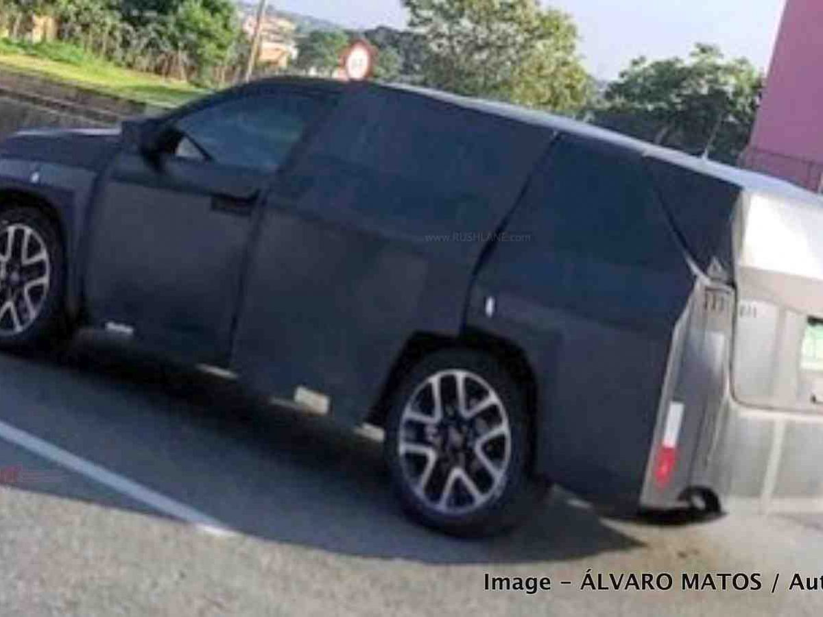 New Jeep 7 Seater Suv Spied On Test Launch In 2021