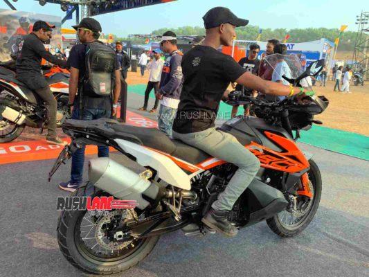 KTM 790 Adventure India launch