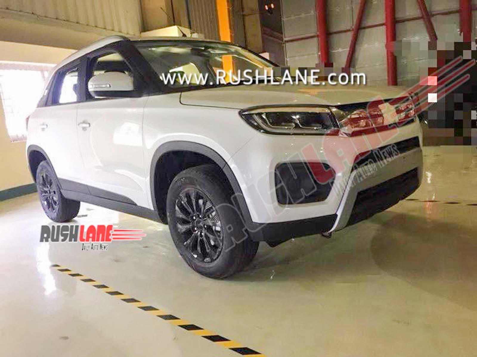 2020 Maruti Brezza facelift BS6 petrol