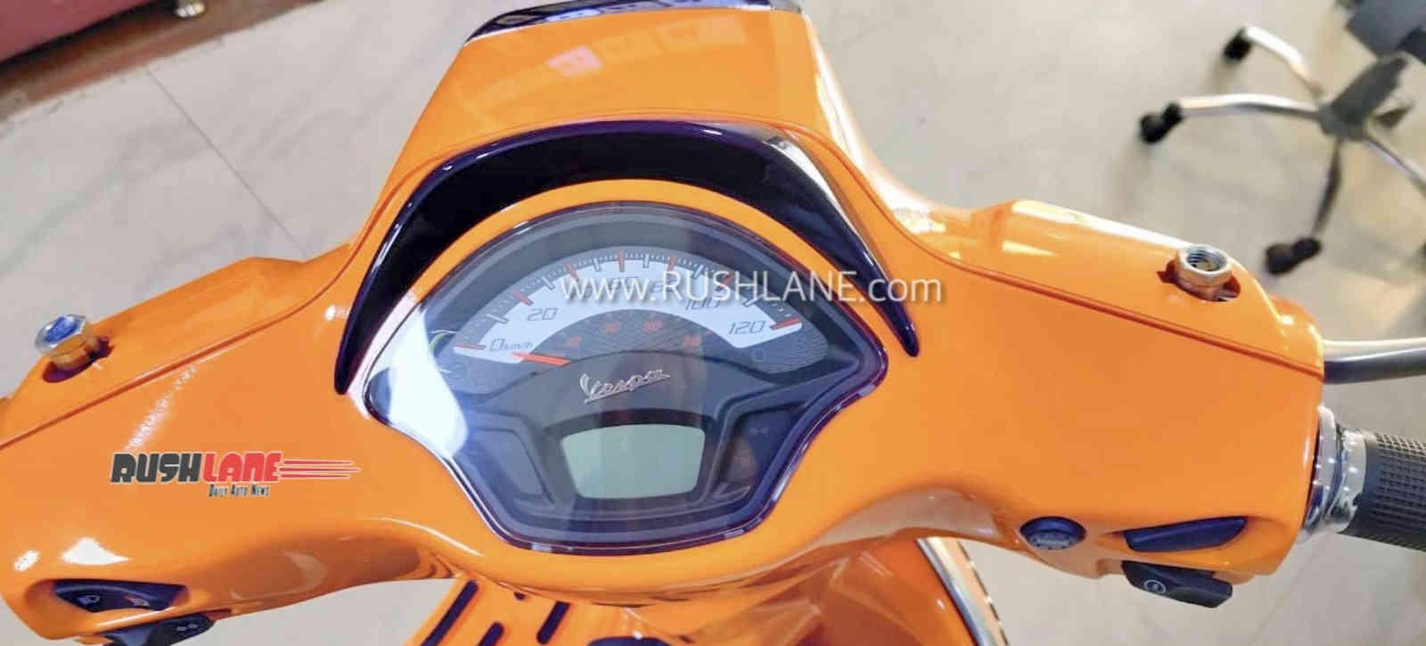 Vespa BS6 scooter