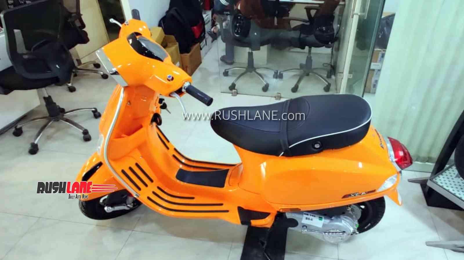 2020 Vespa BS6 scooter