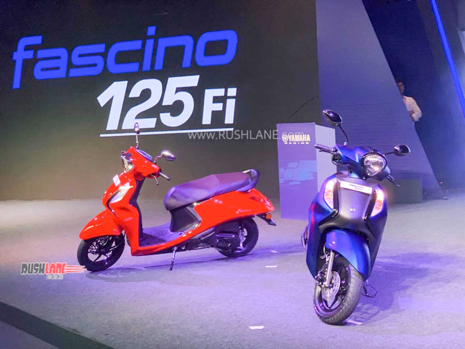 Yamaha Fascino BS6