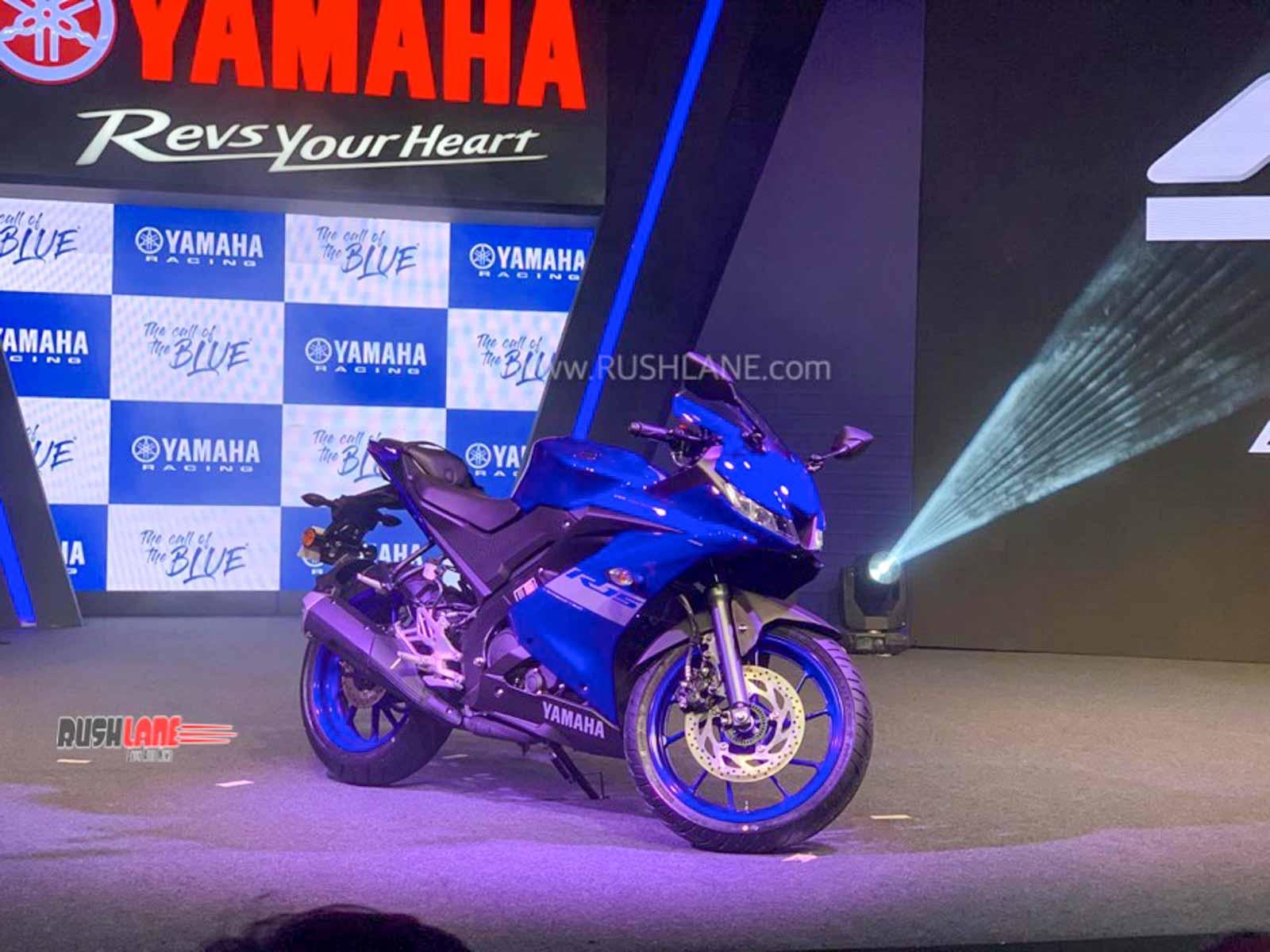 Yamaha R15 V3 BS6