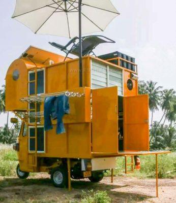 Bajaj rickshaw home RV