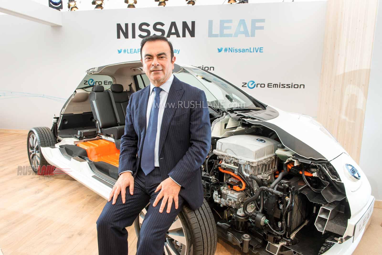 Carlos Ghosn flees Japan
