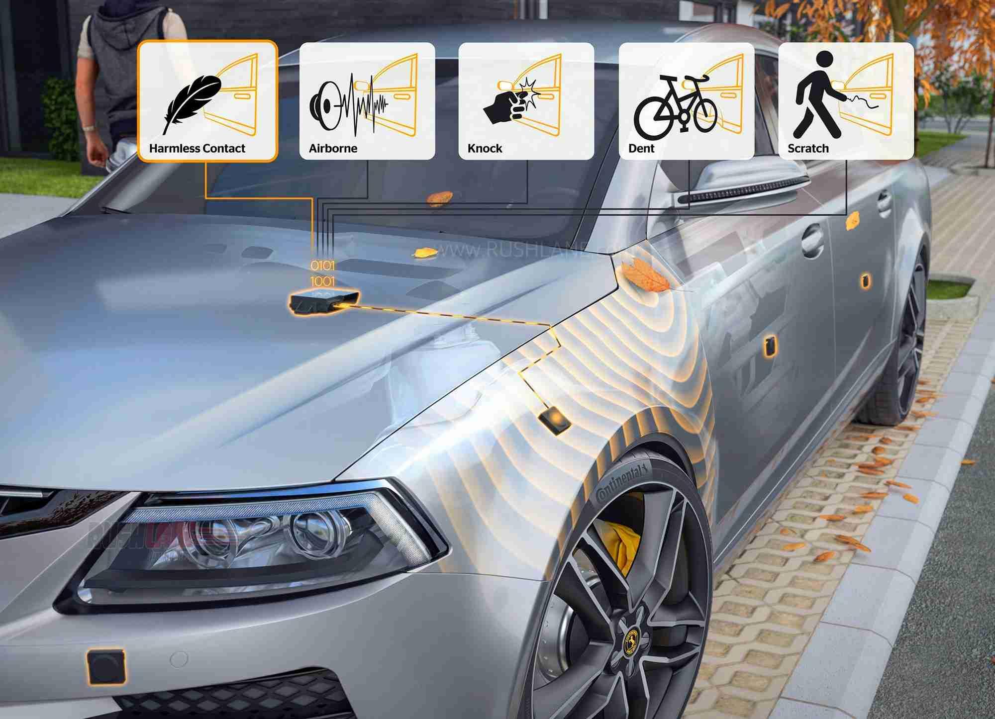 Continental automatic parking sensor