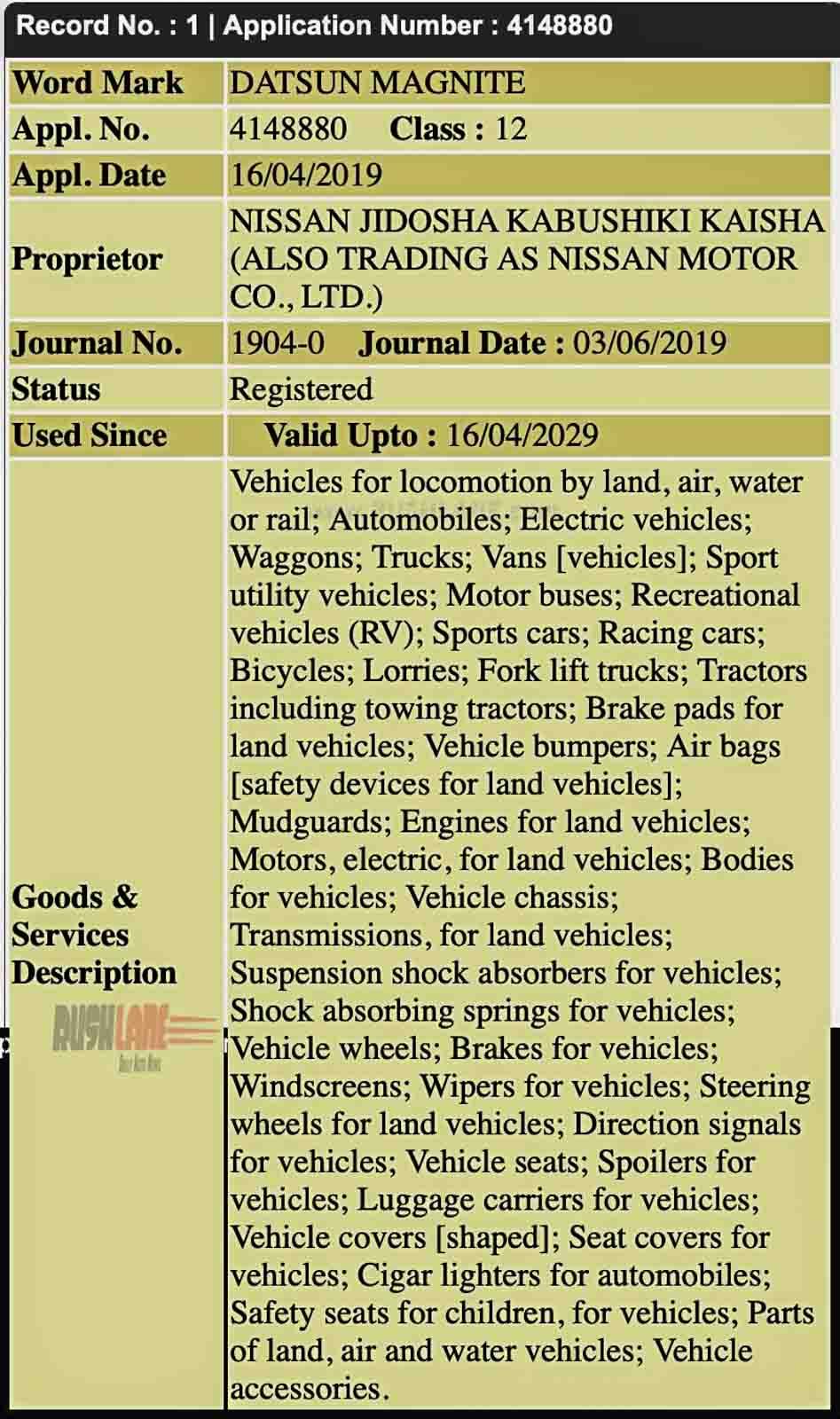 Datsun Magnite small SUV Concept