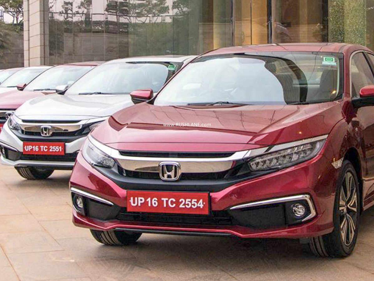 Honda Cars India Sales Decline 71 In Jan 2020 Bs6 City Civic Crv
