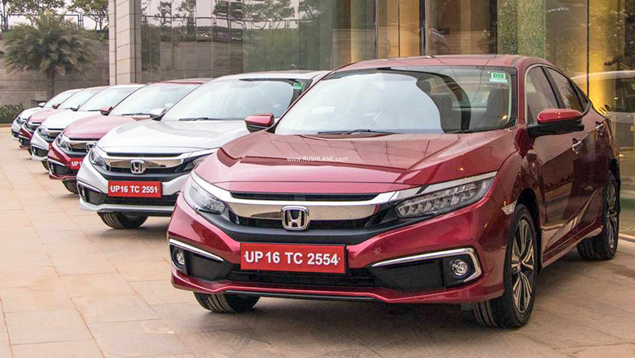Honda Jan 2020 sales