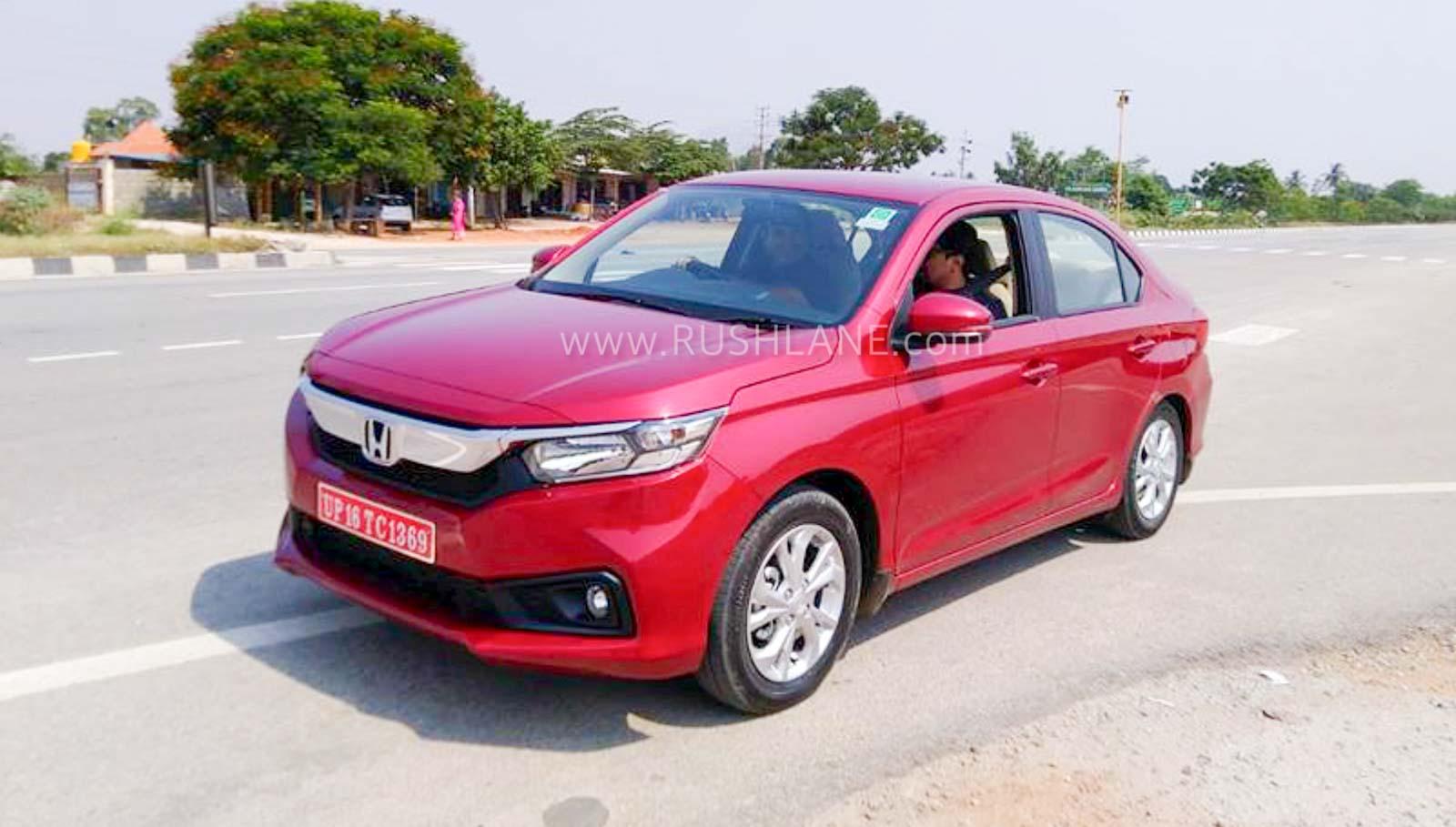 Honda Amaze sales India