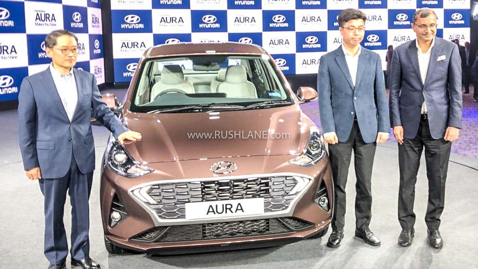 Hyundai Aura launch price India