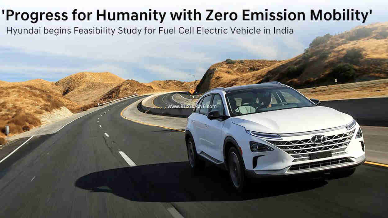 Hyundai India fuel cell testing