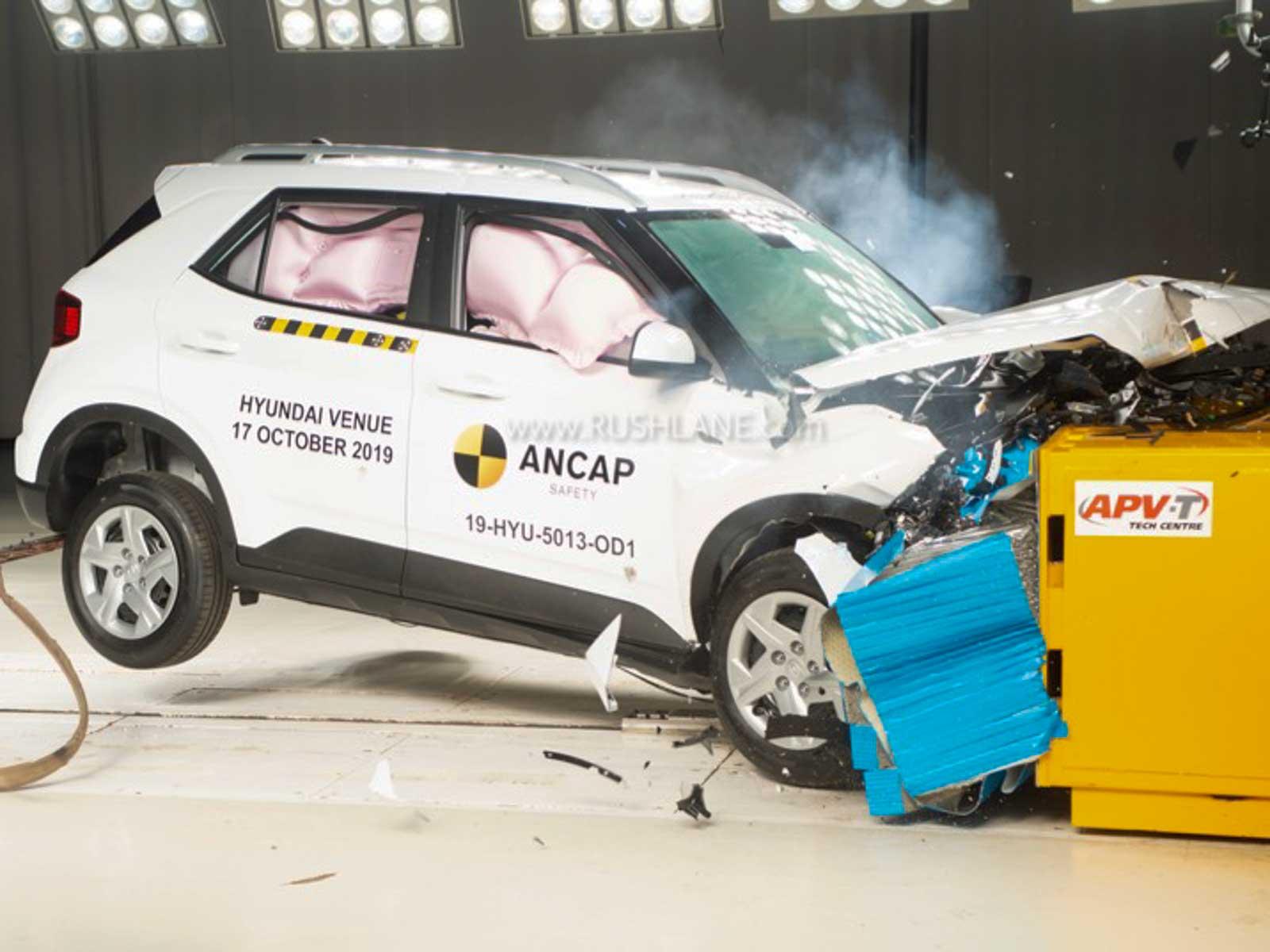 Hyundai Venue crash test