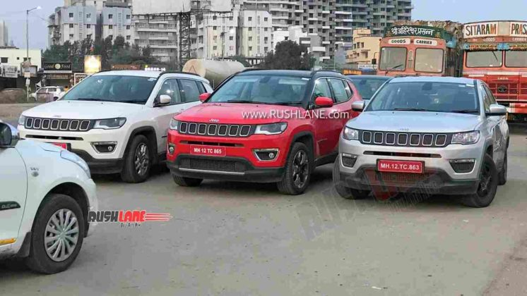 Jeep Compass BS6 range