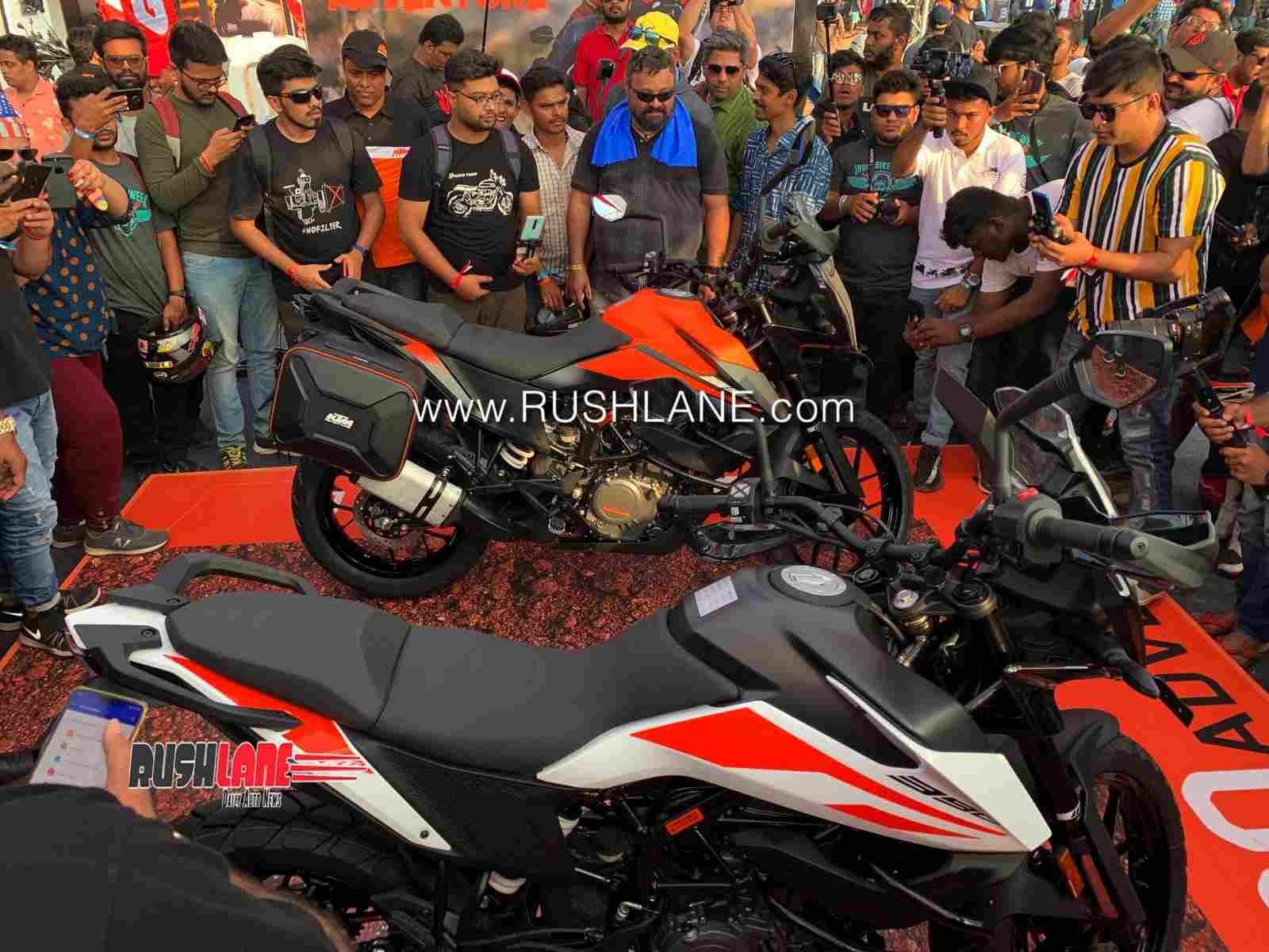 KTM 390 Adventure in India