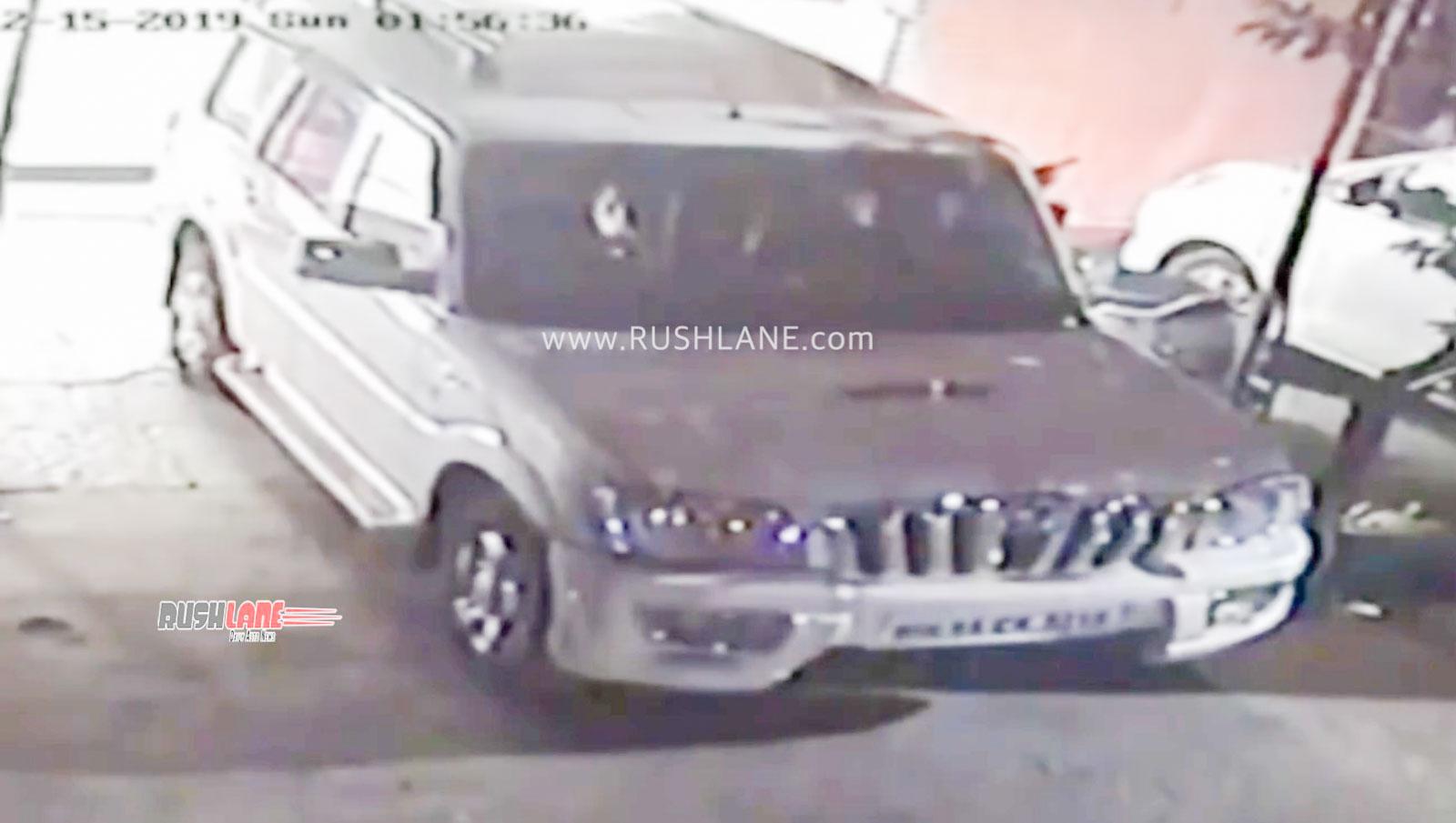 Mahindra Scorpio ATM thieves