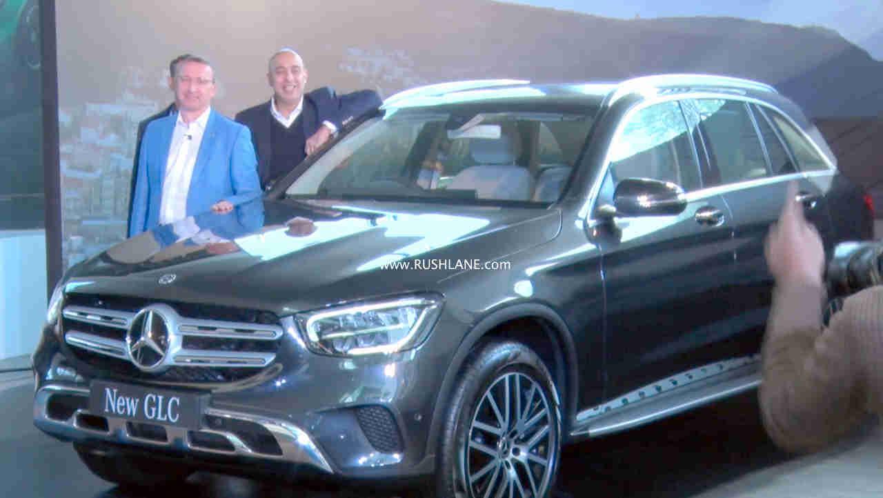 2019 Mercedes GLC launch India