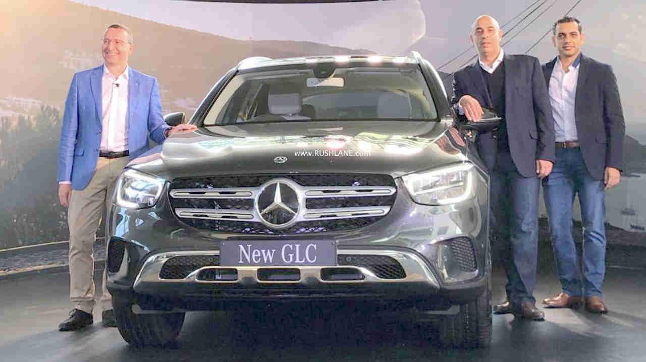 Mercedes GLC facelift launch