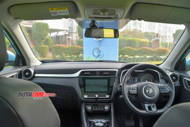 MG ZS electric SUV review
