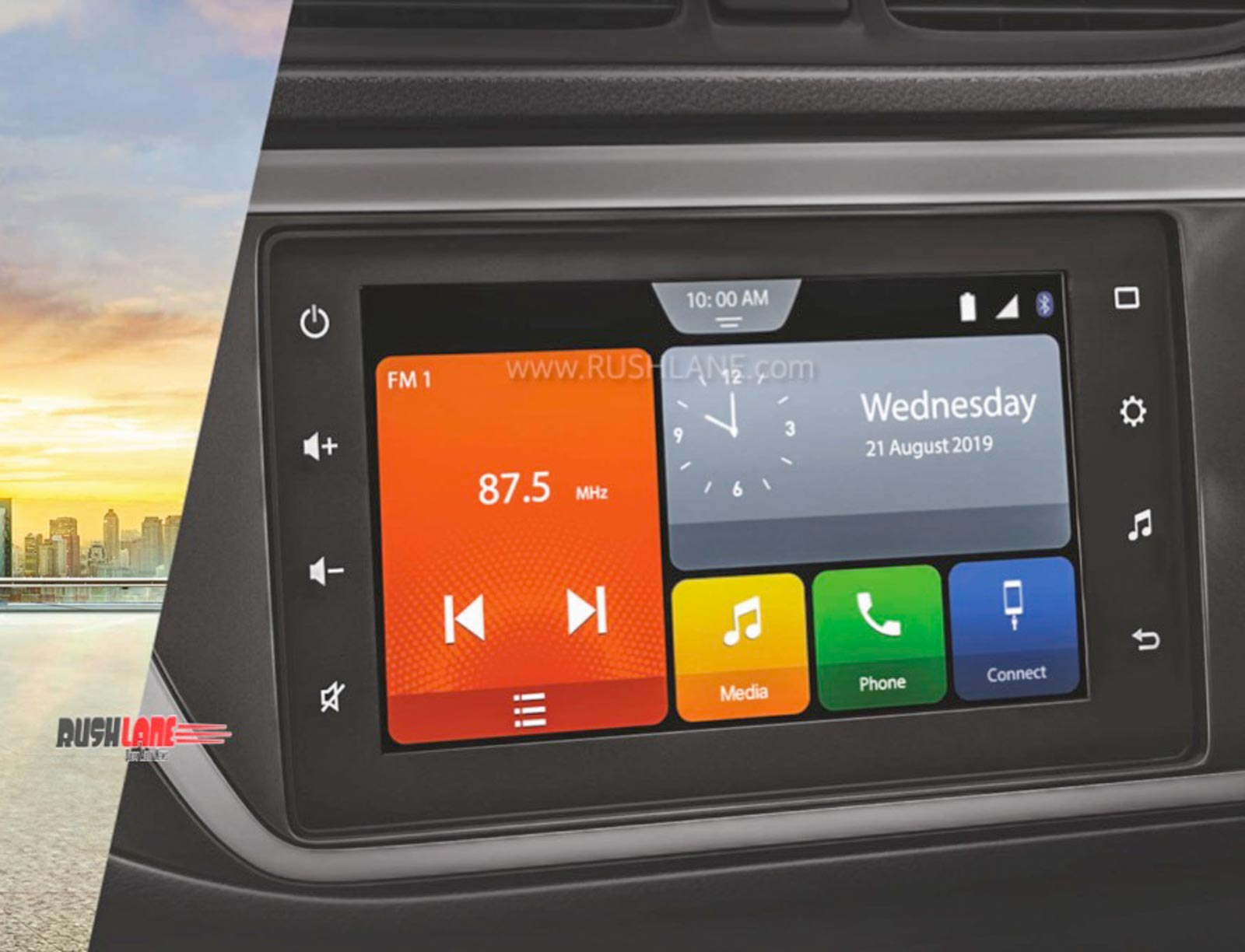 Maruti Alto 800 touchscreen