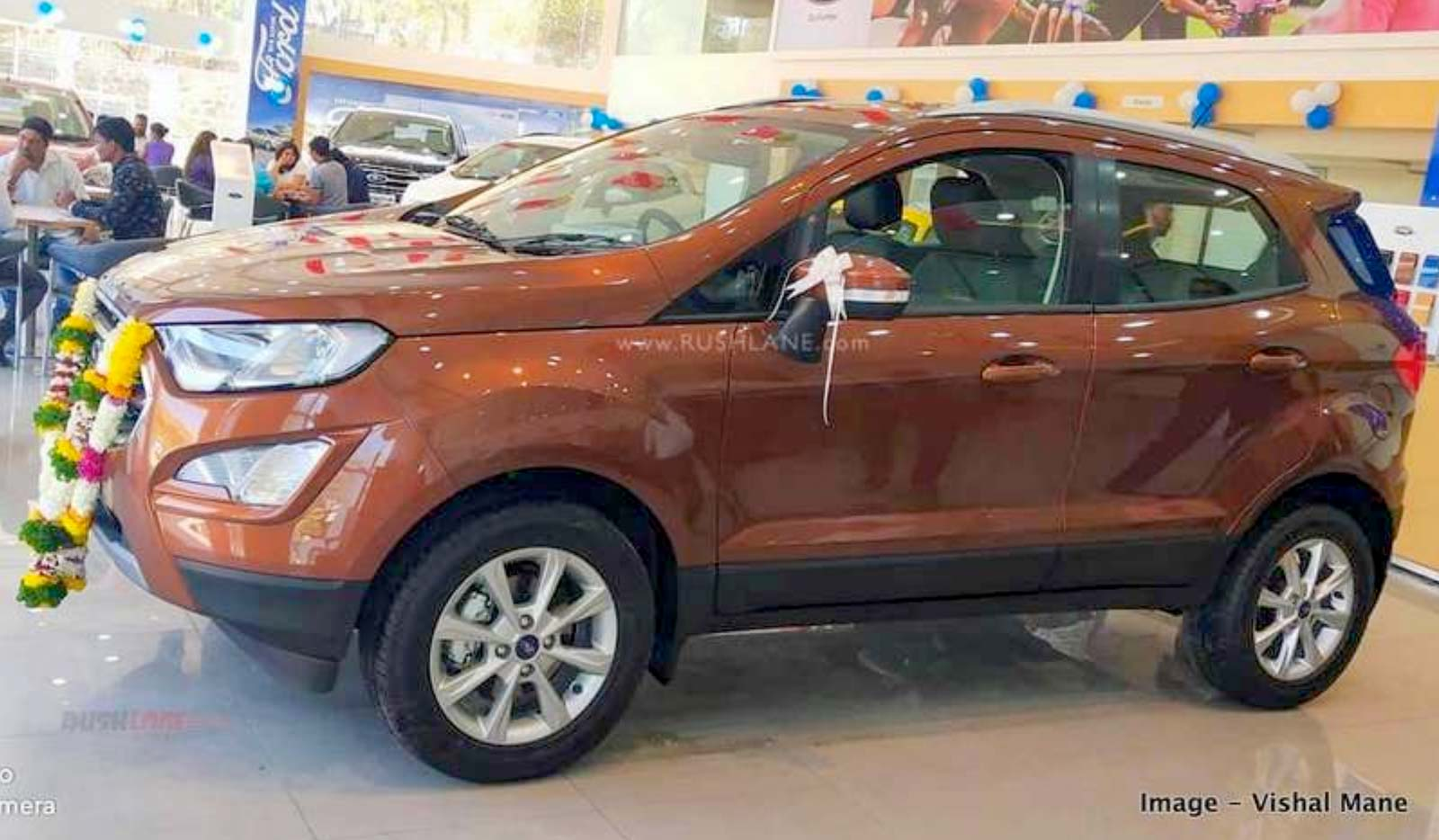 Ford EcoSport sales delivery