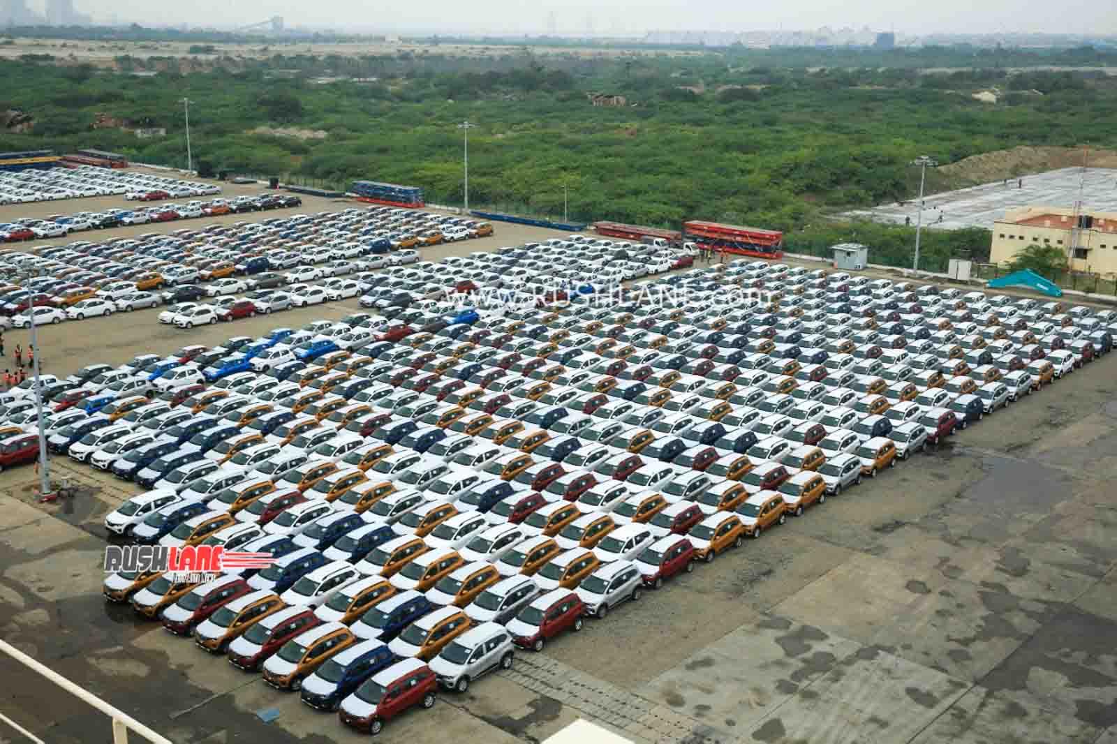 Renault Triber exports