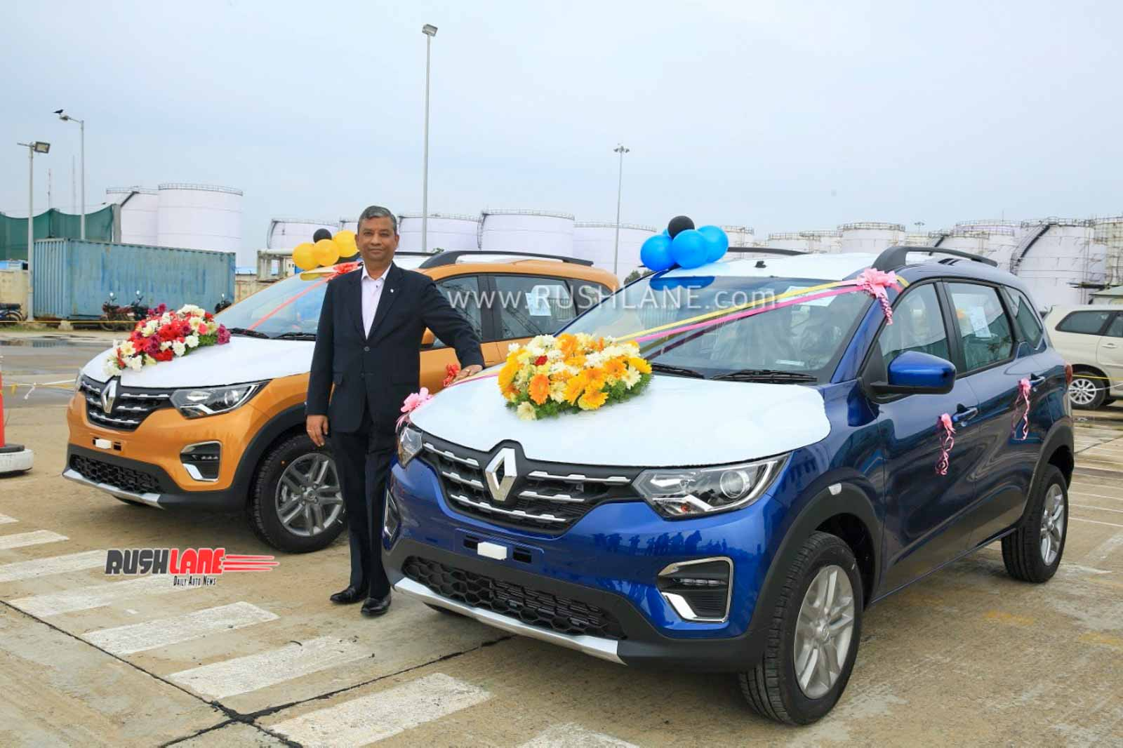 Renault Triber exports