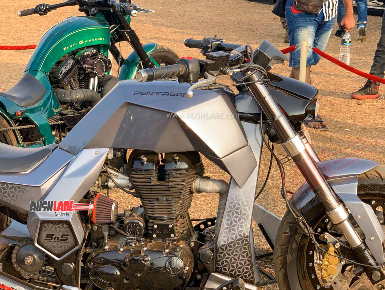 Modified royal enfield