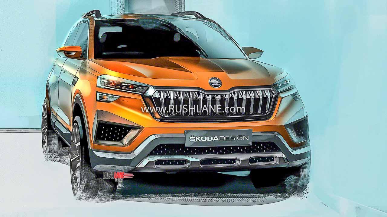 Skoda Vision India SUV