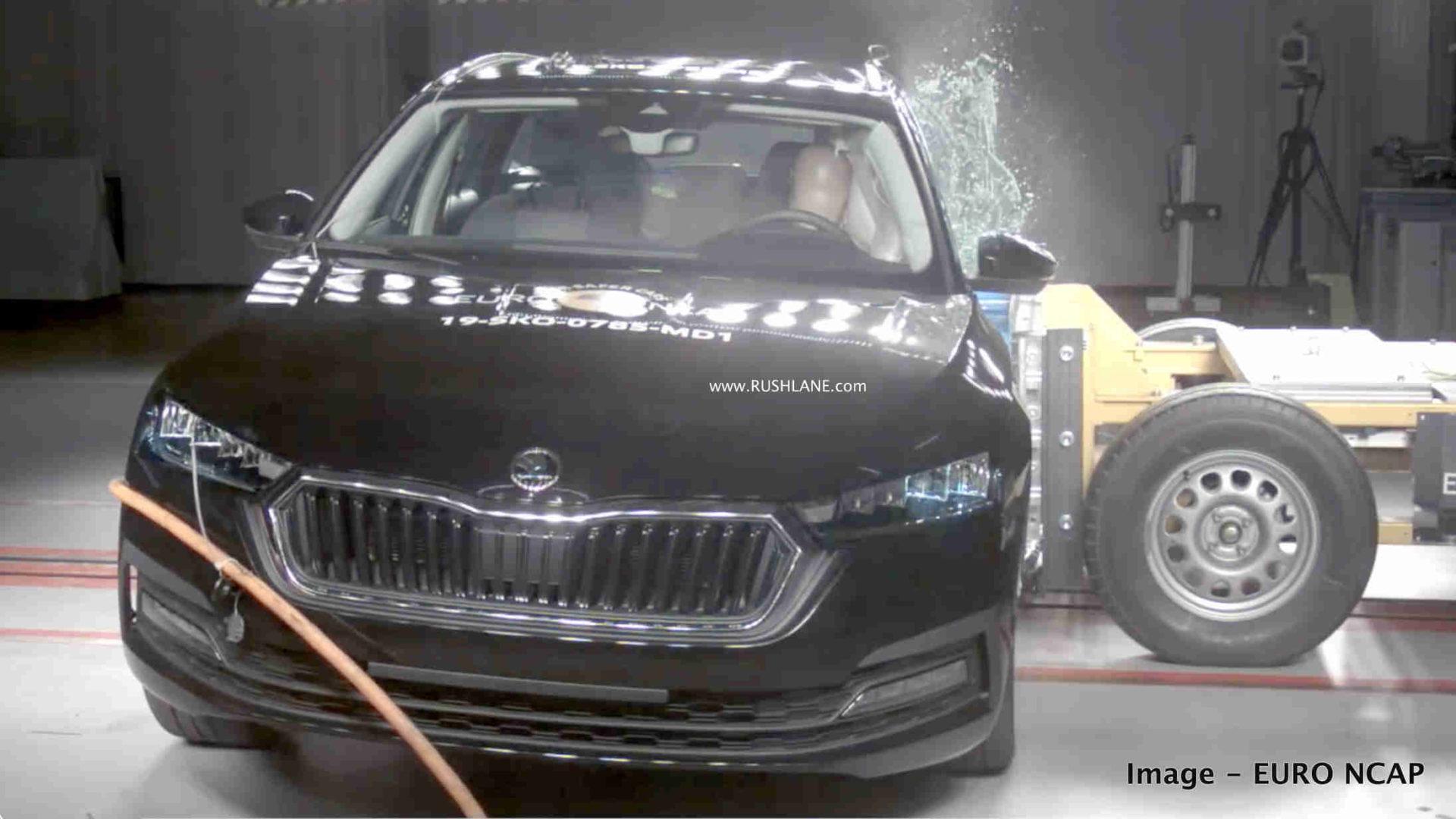 2020 Skoda Octavia crash testa