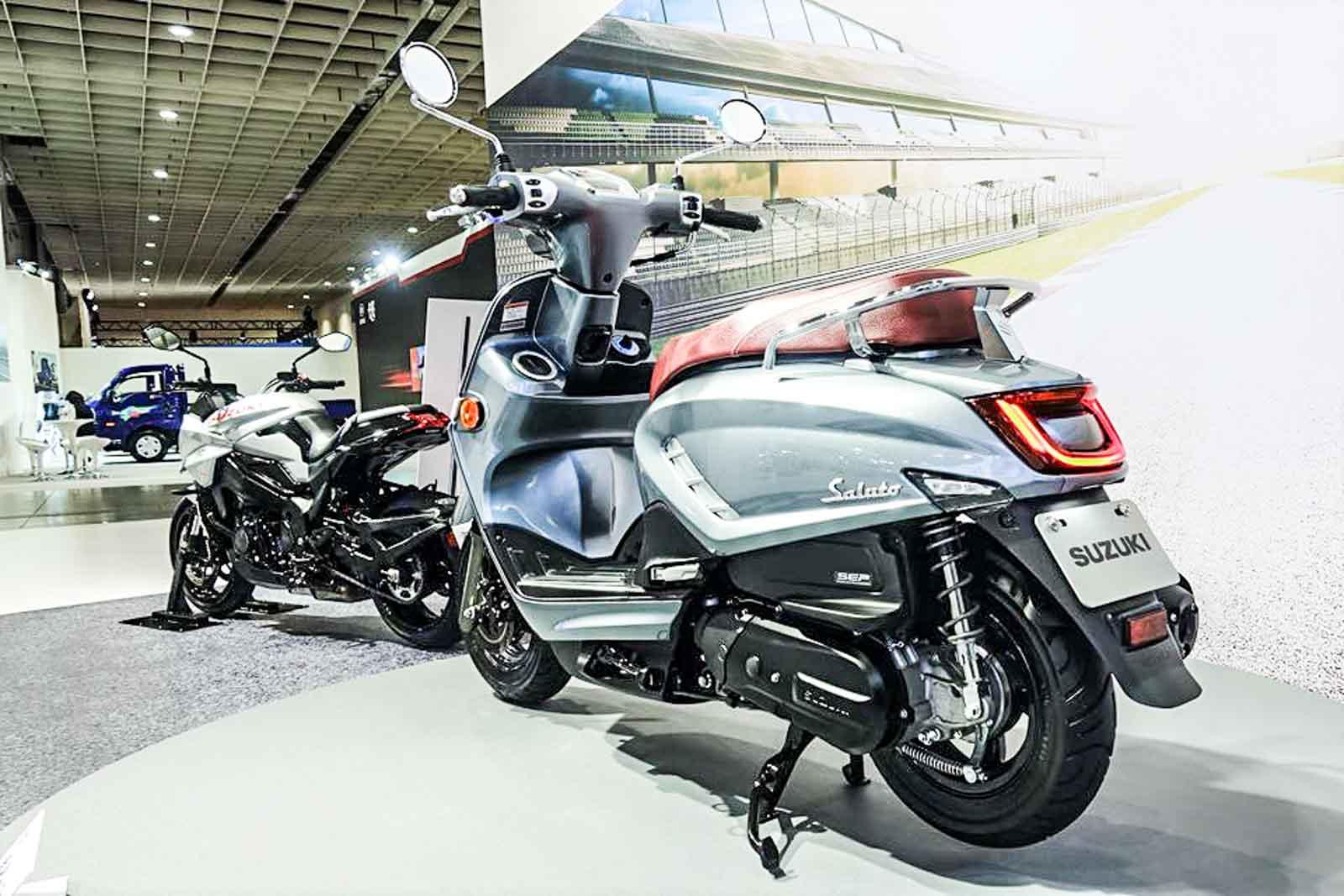 Suzuki Saluto scooter