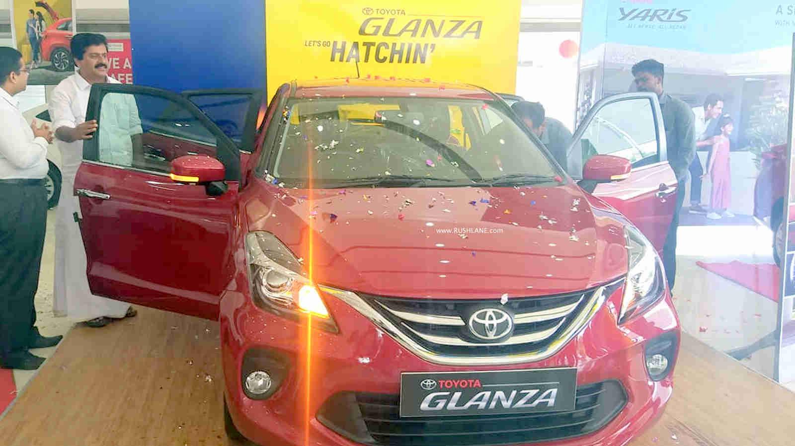 Toyota Glanza sales