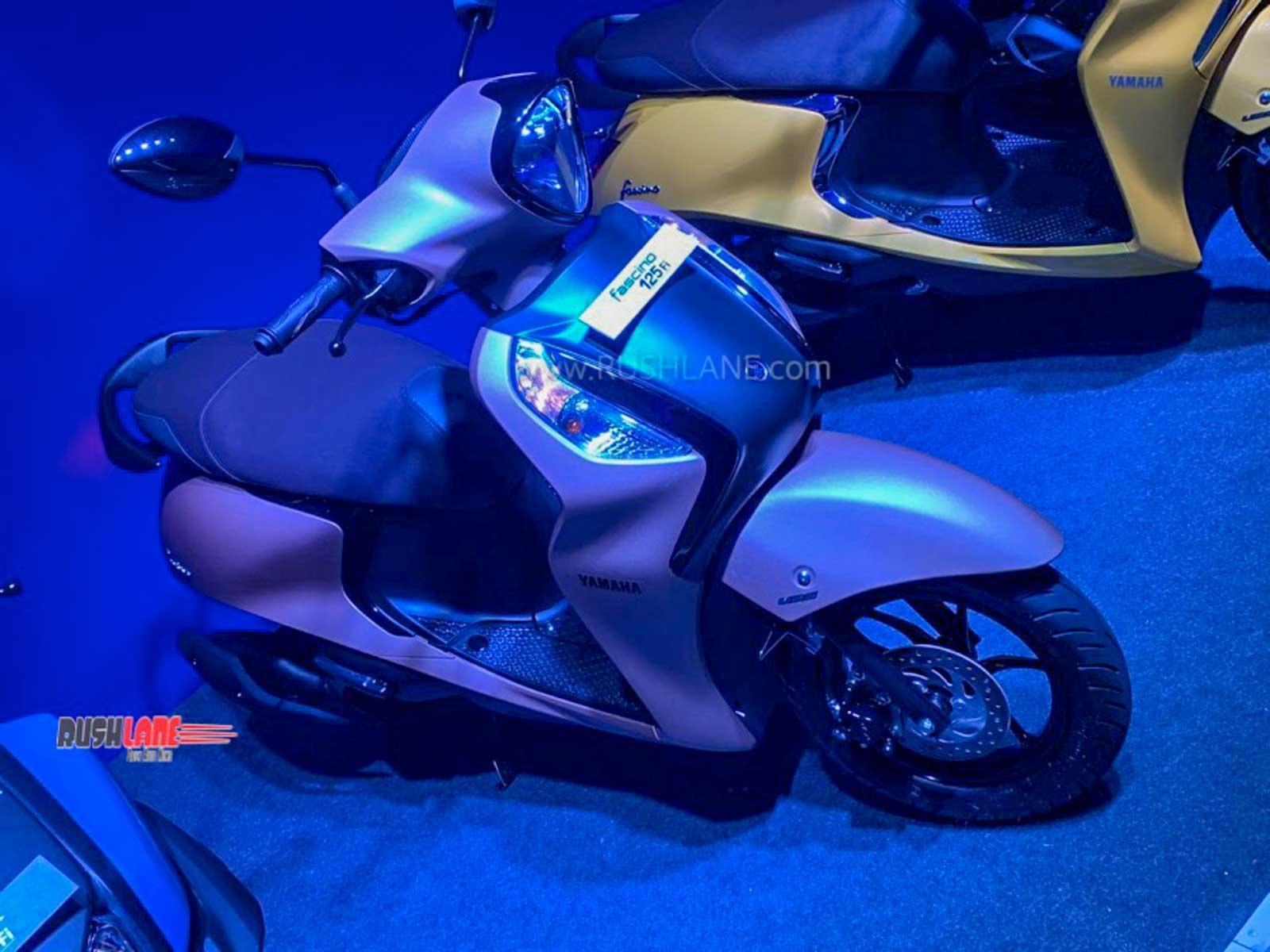 Yamaha Fascino 125cc Fi Bs6 Launch Price Rs 66 5k