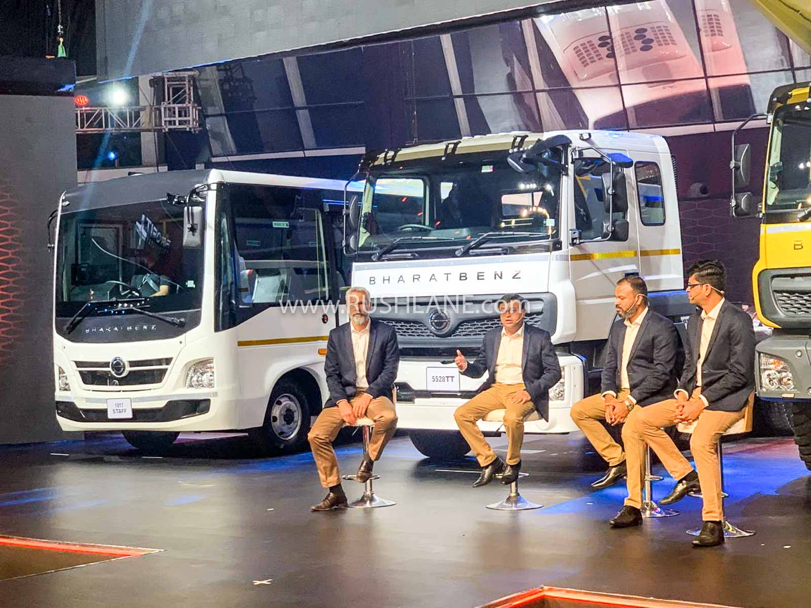 2020 Daimler Bharat Benz Trucks and Buses launch