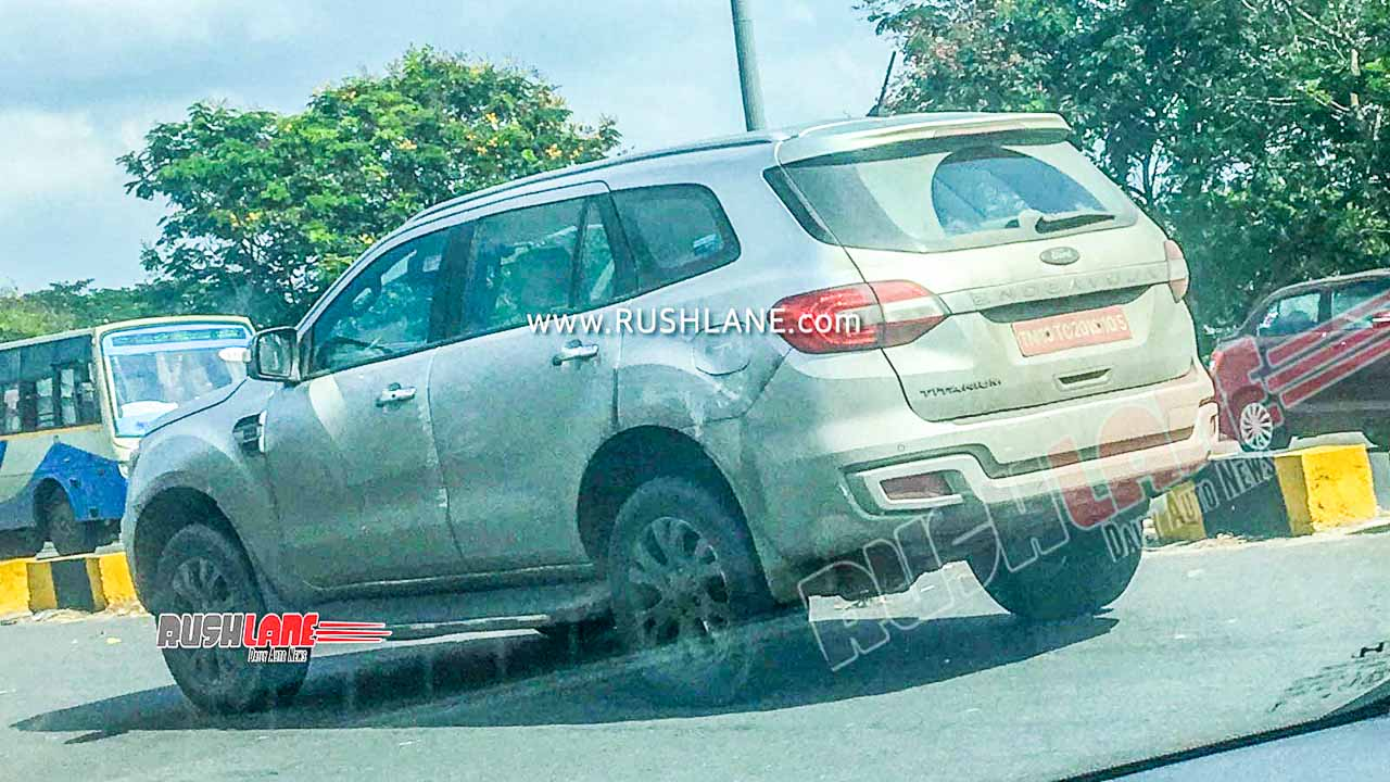 2020 Ford Endeavour BS6 spied