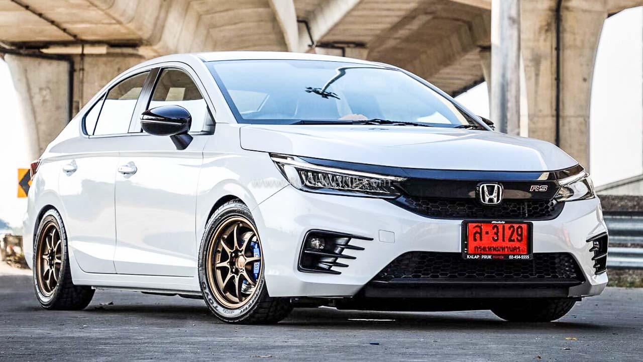 2020 Honda City modified