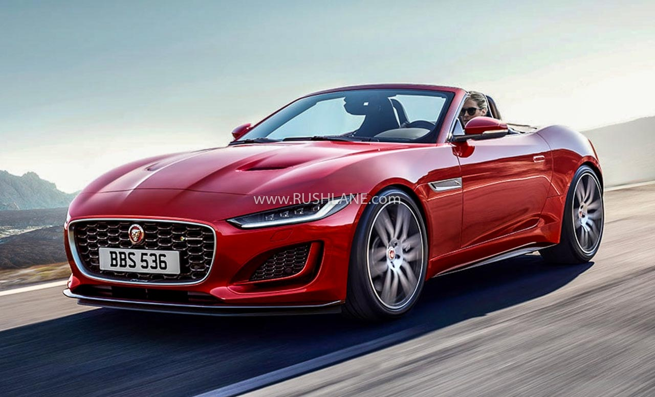 2020 Jaguar F-Type facelift