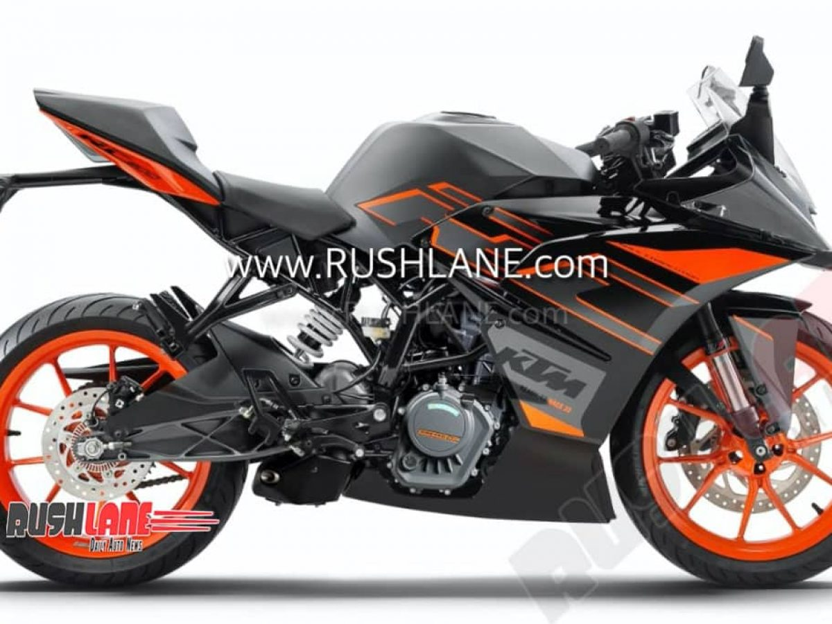 2020 Ktm Rc 200 Bs6 Facelift With New Colour Minor Changes Spied