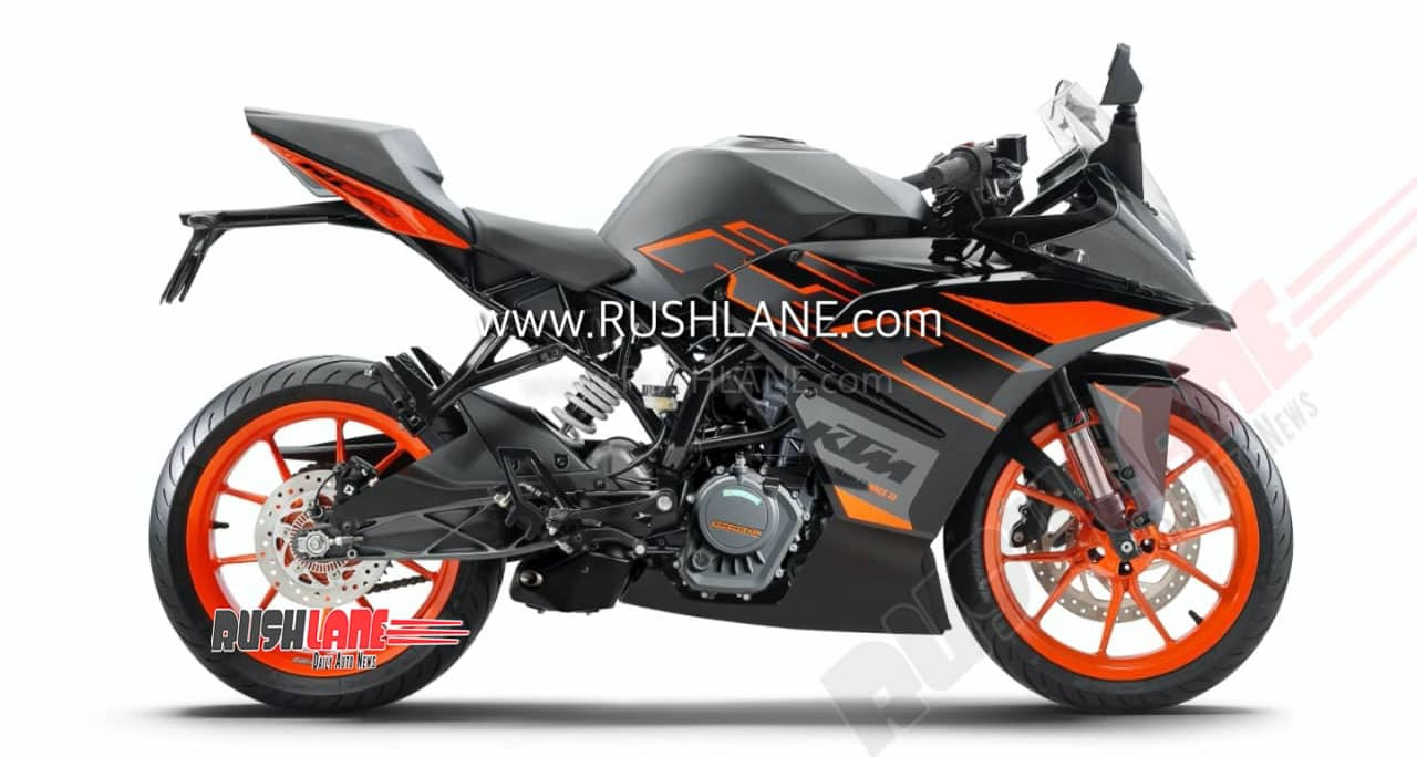 2020 KTM RC 200 BS6 facelift
