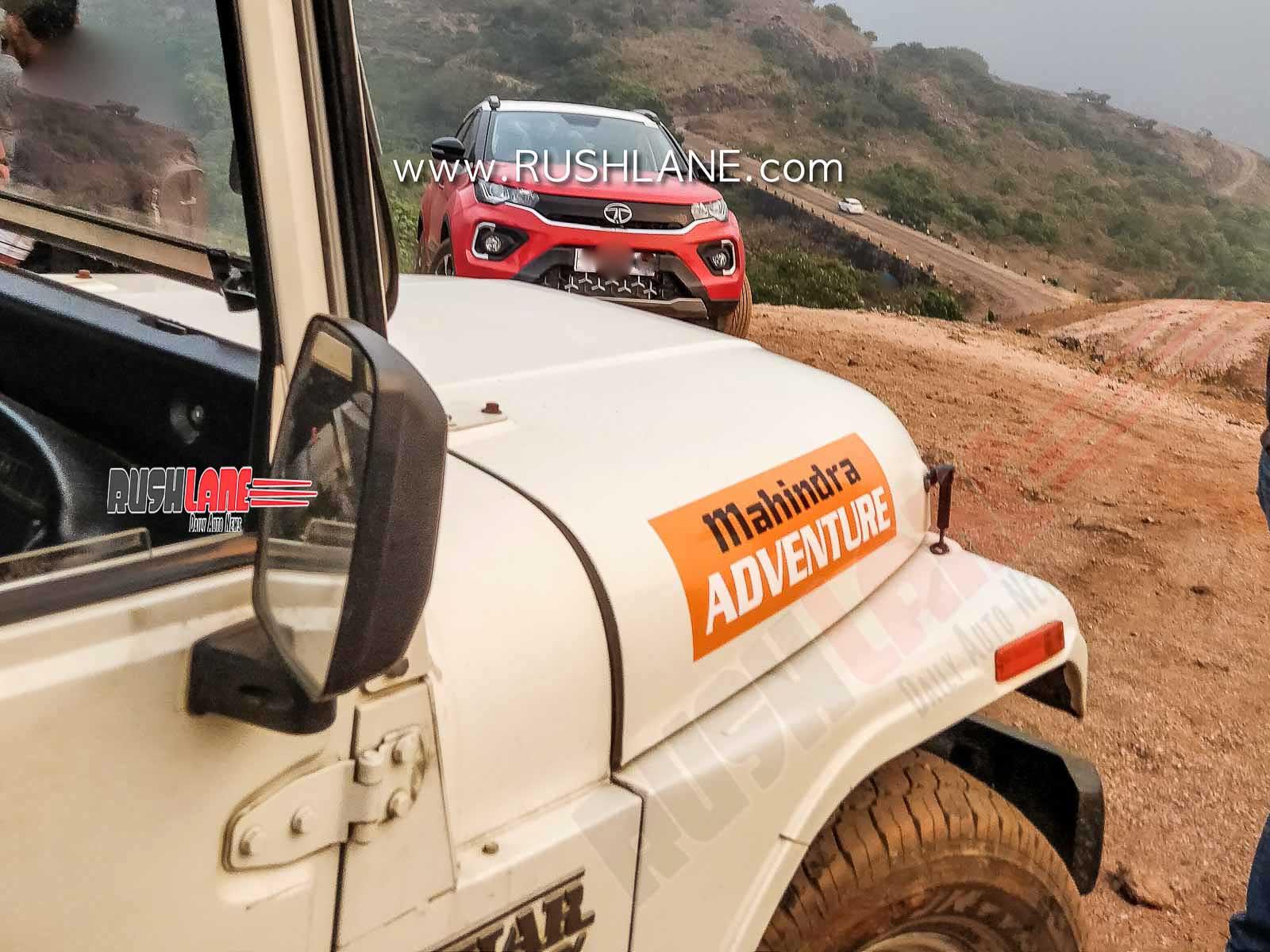 2020 Tata Nexon facelift TVC shoot