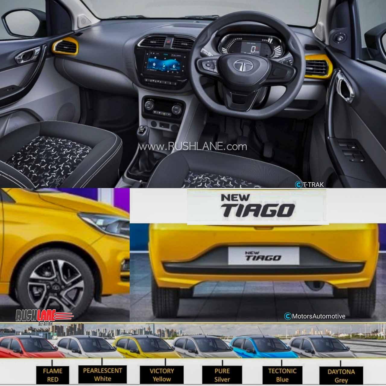 2020 Tata Tiago facelift leaks