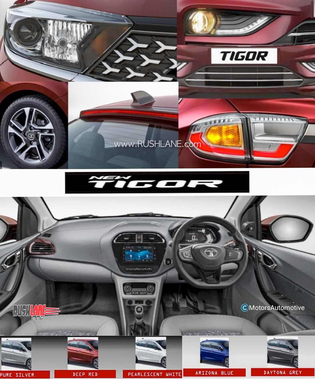 2020 Tata Tigor facelift