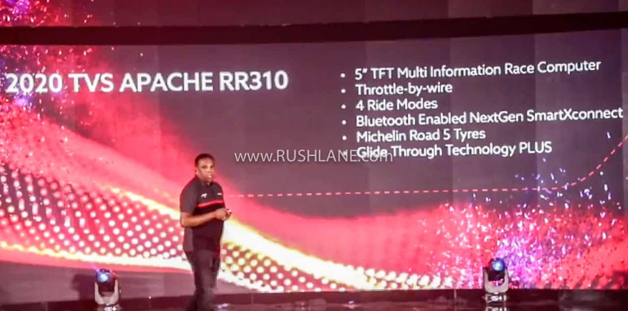 2020 TVS Apache 310 BS6