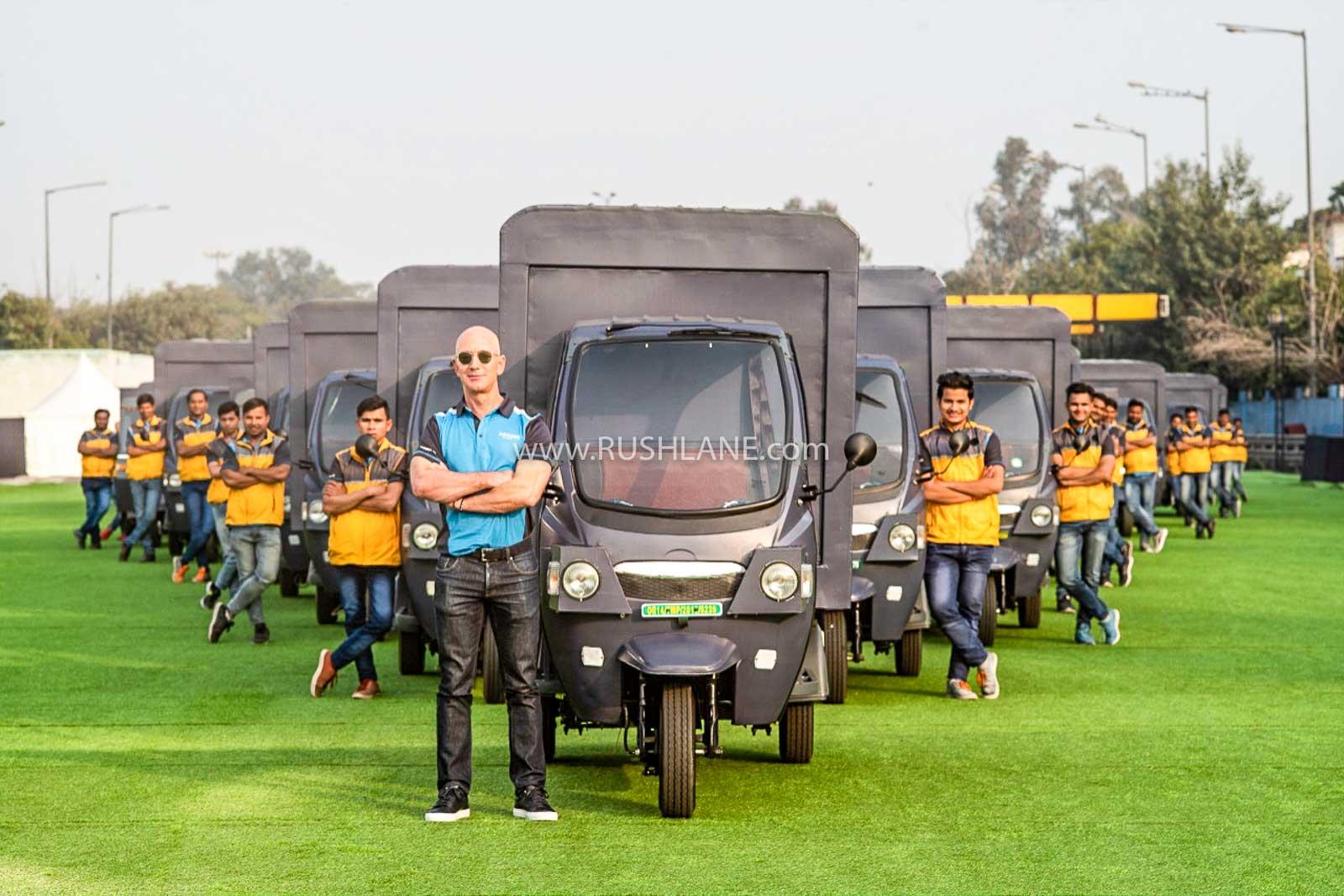 Amazon electric rickshaw India