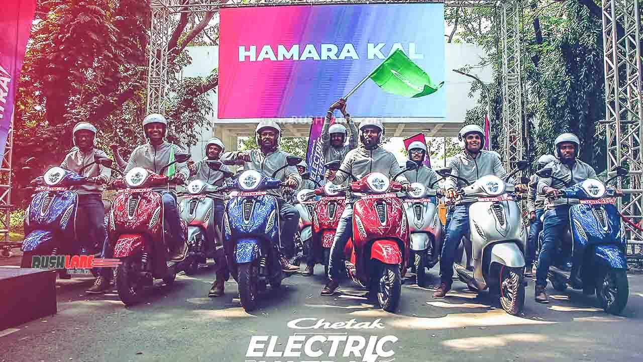 Bajaj Chetak electric scooter launch date