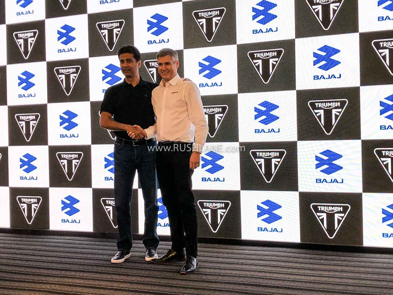 Bajaj Triumph motorcycle launch