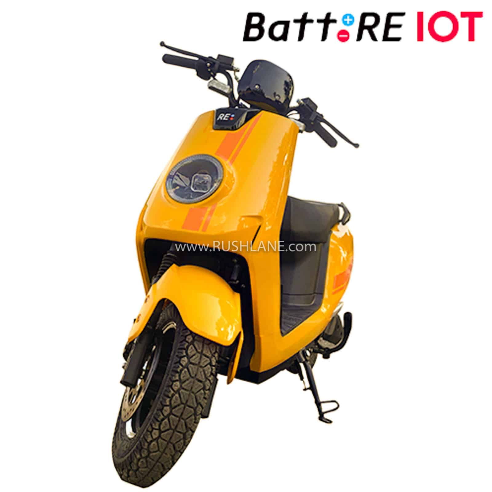 BattRE electric scooter internet